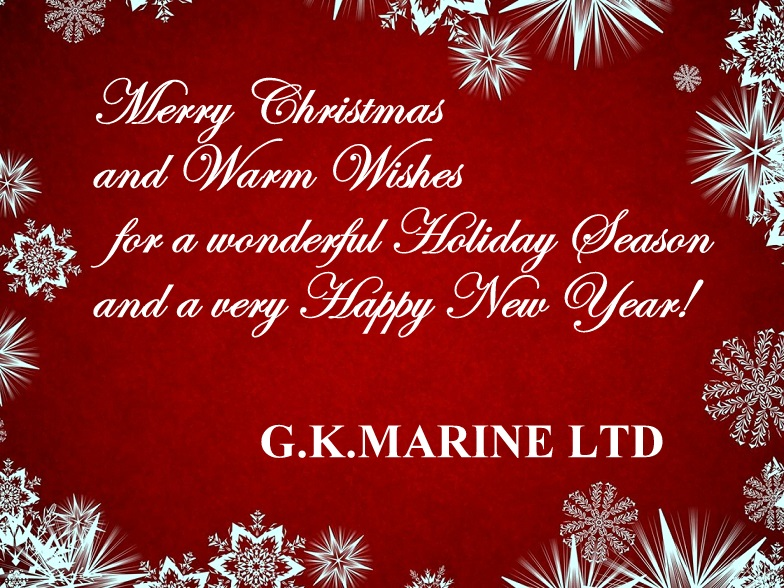 christmas card G.K.Marine 2015